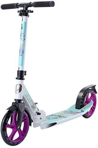 Star-Scooter SC-205-FA-PM-WETE Scooter, Blanco/Turquesa