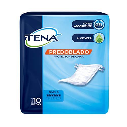 TENA Slip; Protector de Cama Predoblado; Incontinencia Severa, Unitalla; 10 Piezas
