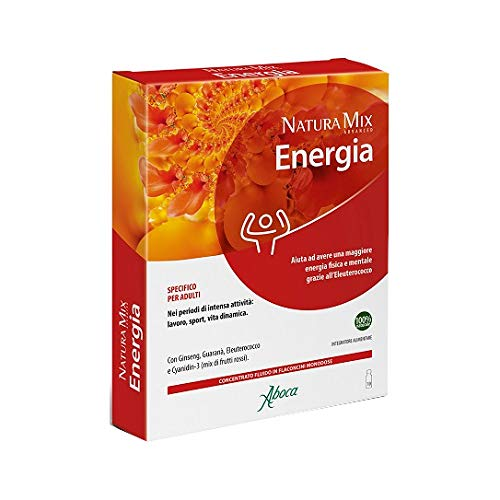 Aboca Natura Mix Advanced Energia 10 Flaconcini 150 Gr - 150 g