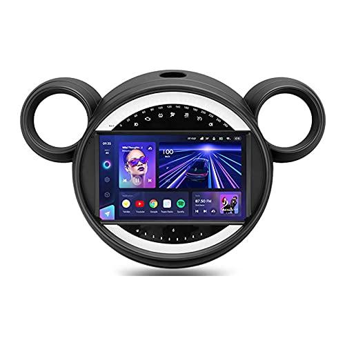 ADMLZQQ 9'' Android 10.0 Autoradio con Bluetooth Manos Libres,para BMW Mini 2010-2016,Soporte GPS Mandos De Volante Cámara Trasera 3D Dinámica De Conducción En Tiempo Real Mirror-Link,Cc3,4+64G