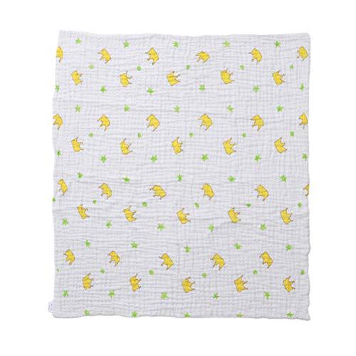 LIOOBO Baumwolle badetücher muslimische Ruhe Decke Gaze Platz neugeborenen Wickeltuch große wasserabsorbierende badetücher für zu Hause Badezimmer (Krone Stil)