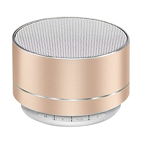 ZAYONG mini bluetooth speaker, mini portable speaker with LED light,...
