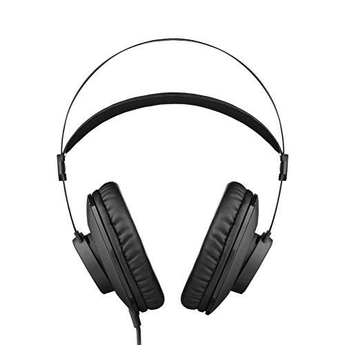 AKG Pro Audio K72 Over-Ear, Closed-Back, Studio Headphones, Matte Black