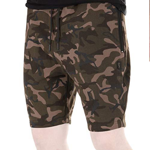 Fox Camo Jogger Shorts - Kurze Angelhose, Größe:M