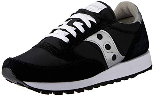 Saucony Originals Men's Jazz Sneaker,Black/Silver,10 M