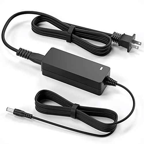 """for LG Monitor Power Cord 19V DC Power Supply for LG Electronics Monitor 32"""" 27"""" 24"""" 23"""" 22"""" 20"""" 19"""" LCD LED HD TV Monitor Widescreen Replacement LG Monitor Power Adapter Cord"""