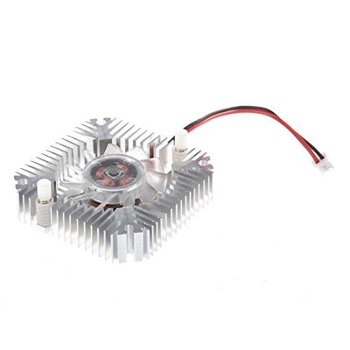 Pineapplen Ventilador de Refrigeracion Enfriador Disipador de Tarjeta de Video VGA para Procesador