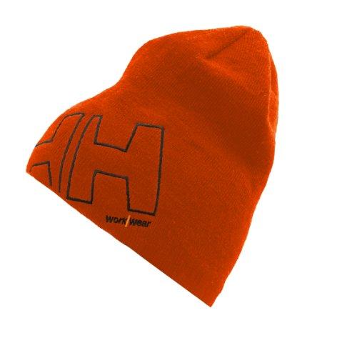 Helly Hansen Mütze aus Mikrofleece mit Logo HH WW Beanie 79830 orange