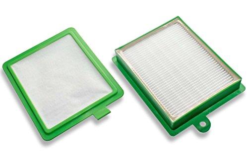 vhbw Filter Set mit Microfilter & HEPA passend für AEG Electrolux, Philips, Tornado Staubsauger ersetzt AEF08, AEF 08, EF17, EF 17