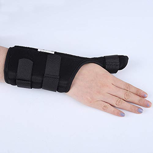 UUK Thumb Splint and Wrist Support Brace - Best for Chronic Rsi & Cts Pain Relief, Arthritis, De Quervain's Tenosynovitis & Carpal Tunnel/Spica Splint, Fits Right and Left Hand,Left,L