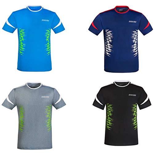 DONIC T-Shirt Level Optionen XXL, grau Melange