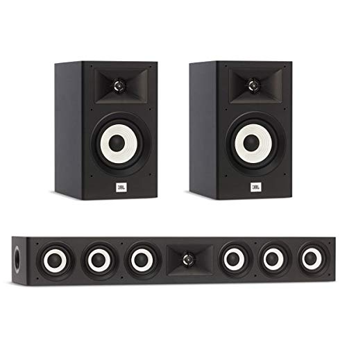 Best Review Of JBL 3.0 System with 2 JBL Stage A130 Bookshelf Speakers, 1 JBL Stage A135C Center Spe...