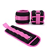 MEHO Ankle Weights, Ankle Wrist Arm Leg Weights, Ankle Weights for Men/Women, Adjustable Strap, for...