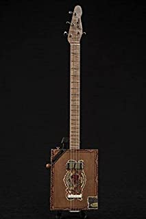 4 String Premier Flor De Las Antillas Cigar Box Guitar
