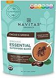 Navitas Organics Essential Superfood Blend, Cacao & Greens, 8.8 Ounce