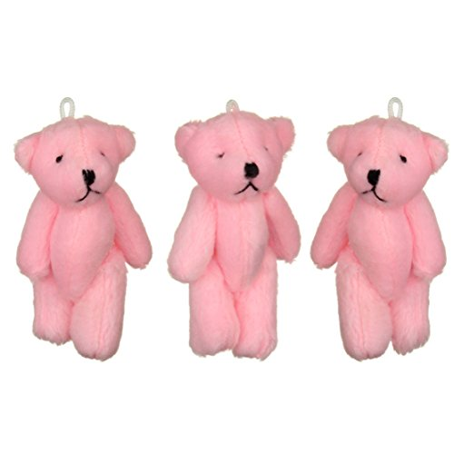 NEW mignon petit ours Rose - 47 X cadeau d'anniversaire, cadeau de Noël