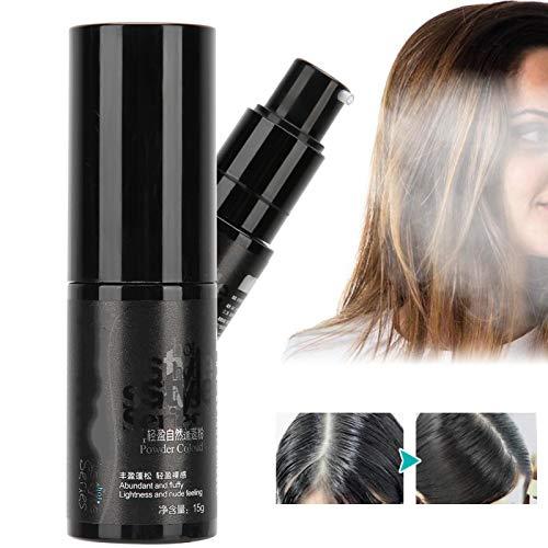 Polvo para peinar esponjoso Champú seco para peluquería 15 g Champú seco en polvo para el cabello Polvo conveniente para el volumen del cabello para hombres y mujeres para peinar el cabello