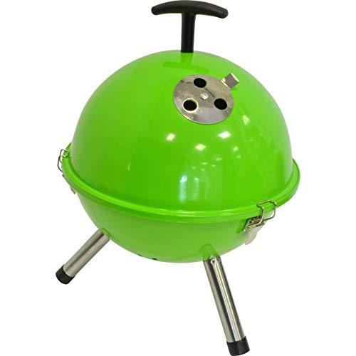 Mini BBQ Kugelgrill grün