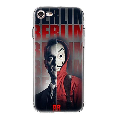 Giorno TV La Casa De Papel TPU Phone Case Cover For Funda iPhone Case Soft Shell 12 For Funda iPhone 11