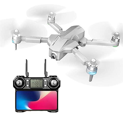 Drone 4K per fotografia aerea HD ultra lunga durata gesto telecomando aereo Quadcopter per adulti principianti senza spazzole aereo drone, bianco