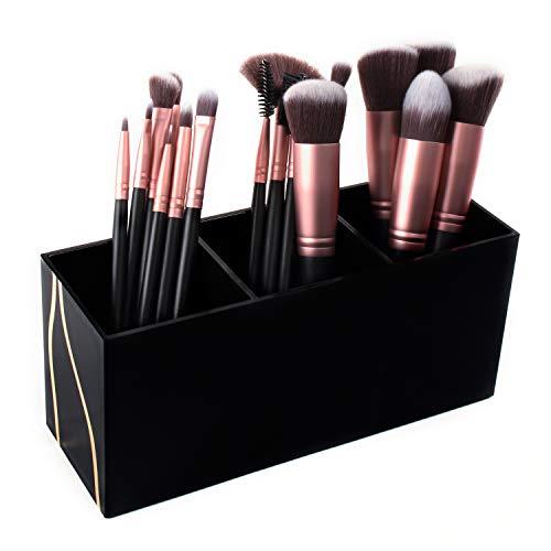 Super Z Outlet Kosmetik Make-up Schwarz Organizer für Lippenstift, Eyeliner-Pinsel, Lip Pencil...
