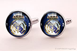 Real Madrid Cuff links,Real Madrid,Crown,Imperial crown,Queen Jewelry,