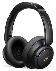 Anker Soundcore Life Q30(Bluetooth5.0 ワイヤレス ヘッドホン)【アクティブノイズキャンセリング/外音取り込みモード/NFC・Bluetooth対応/ハイレゾ対応(AUX接続時) / 最大40時間音楽再生 / マイク内蔵/専用アプリ対応】ブラック