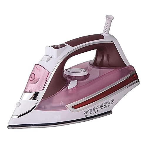 ASKLKD Ropa de Mano Steamer Home Portable Plancha Ropa de Planchado Spray Spray Hierro Generador de Vapor Viajes de Viaje (Color : Pink)