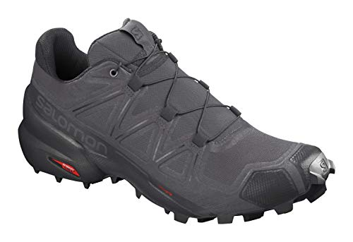 Salomon Men's Speedcross 5 Trail Running, Magnet/Black/Phantom, 10