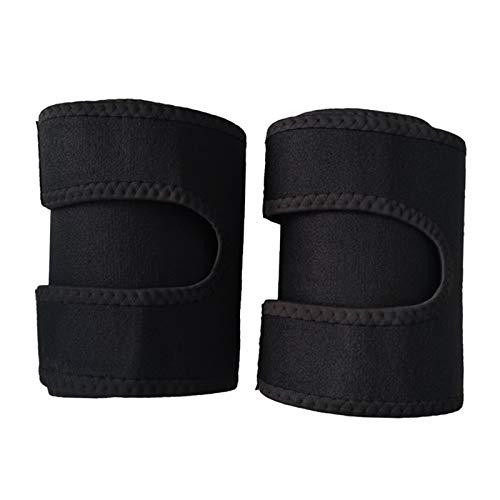 Sharplace Shorter Arms Slimmer Wraps ćwiczenia dla mężczyzn i kobiet w saunie, neoprenowe studio fitness, czarny (czarny) - 81477a5184f70fa8c69d01a5fb2a45d9