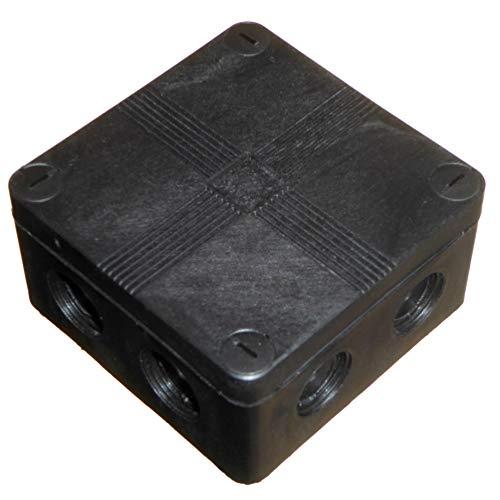 Outdoor Verteilerkasten mit Anschlussblöcken und glatten Aussparungen, IP66-wasserdicht, 91 x 47 mm, 1 Stück