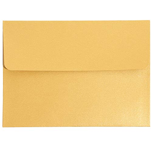 JAM PAPER Bubble Padded Mailers with Self-Adhesive Closure Gold Metallic 12//Pack 6 3//8 x 9 1//2
