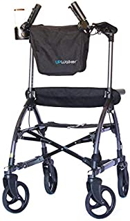 UPWalker Original Upright Walker - Size Large (Stand Up Rolling Mobility Walking Aid with Seat)