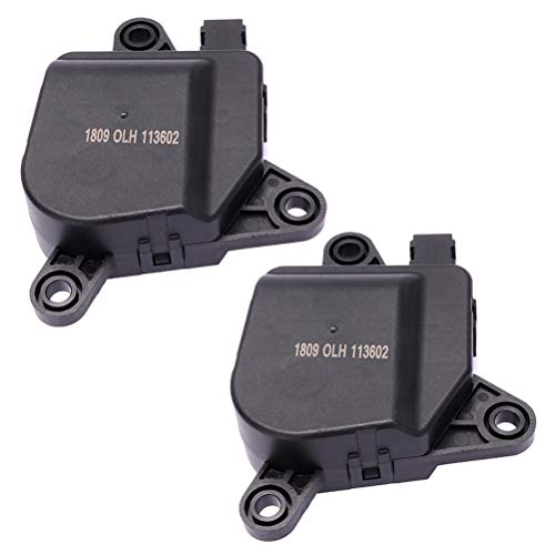 OCPTY HVAC Air Door Actuator Fits for Chrysler,Dodage Ram,SRT Replace for 604-002 4885206AA 4885206AB 5019631AA Temperature Reticulation HVAC Blend Control Actuator,2Pack