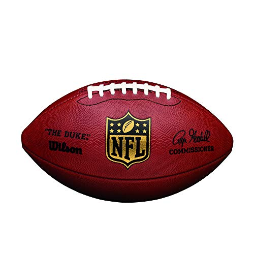 Wilson 'The Duke' Official NFL Game Football - Old Version