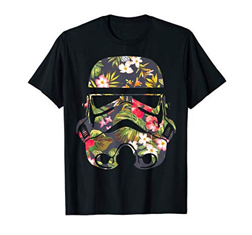 Star Wars Tropical Stormtrooper Floral Print Graphic T-Shirt
