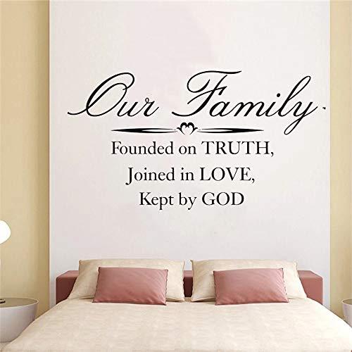 LKJHGU Abbiamo Salvato la Bibbia sulla Base della verità tra Amanti, verità e Dio, Adesivi murali in Vinile, Belle Ragazze, Ragazze
