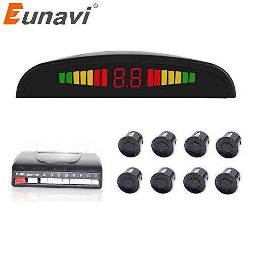 Lowest Price! PZ300-8 Black, LED Display, China : Time-Limited New Eunavi Car Detector Reversing Rad...