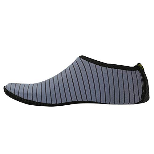 Wasserschuhe für Herren und Damen Barfuß Speed Dry Anti-Rutsch-Wassersocken Yoga Unisex Badeschuhe Strandschuhe Aquaschuhe Schwimmschuhe Surfschuhe Barfuß Schuhe
