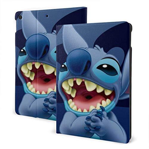 Lilo Stitch Ipad 7th Generation Case 10.2inch Ipad Case Auto Sleep/Wake, carcasa dura para 7th Gen Ipad 10.2 Inch 2019-Ipad Air3 & Pro 10.5inch