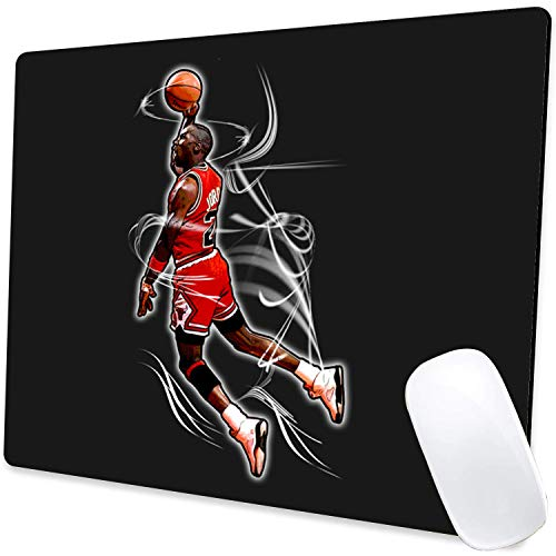 Gaming Mouse Pad,Jordan Dunk 002 Mouse Pad Non-Slip Rubber Base Mouse Pads for Computers Laptop Office,9.5'x7.9'x0.12' Inch(240mm x 200mm x 3mm)