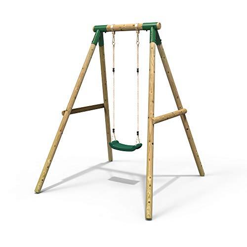Rebo Wooden Garden Swing Sets - Jup