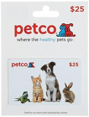 Petco Gift Card $25
