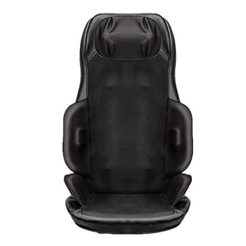 Massagekissen Massagesitzauflage,Nursal Rückenmassage Shiatsu Massage Sitzkissen,mit Hitzefunktion, Tiefes Kneten Massage Vibration Geeignet,für Bürostühle und Sofas