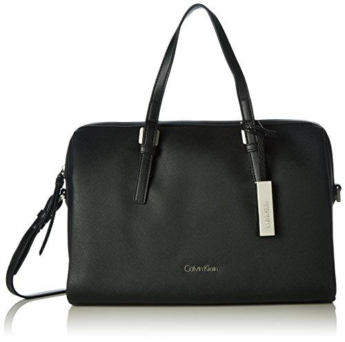 Calvin Klein Damen M4RISSA DUFFLE Tornistertasche Schwarz (BLACK )