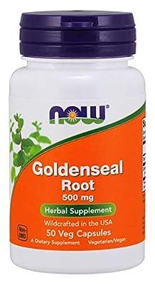 Now Foods Goldenseal Root Capsules, 0.055 kg