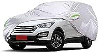 車のカバー Hyundi新しいサンタフェの車は防水カーカバー全カーカバー防塵、日焼け止め、全天候型の防止、カーウォッシュの削減をカバーと互換性のカーカバー