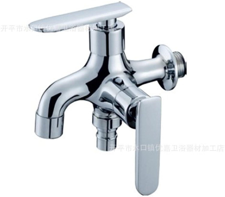 ETERNAL QUALITY Badezimmer Waschbecken Wasserhahn Messing Hahn Waschraum Mischer Mischbatterie Tippen Sie auf die Scheibe Faucet Single Kalt Wasserhhne Tippen Küchenspüle Armaturen