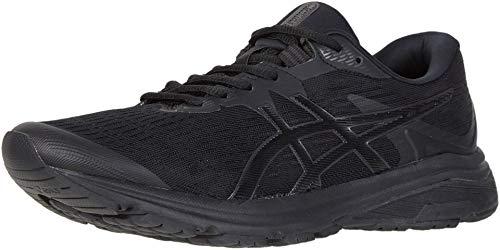 ASICS Men's GT-1000 8 Shoes, 6M, Black/Black