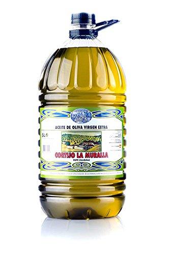 Cortijo La Muralla - Aceite de Oliva Virgen Extra Variedad Hojiblanca - Cosecha Familiar - Formato 5 L